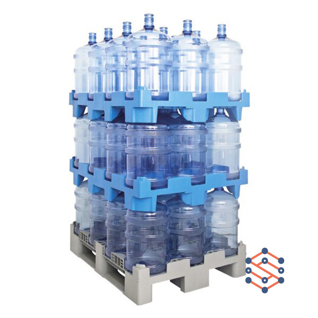 Пластиковый поддон для бутылей