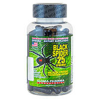 Cloma Pharma Black Spider 100 caps. жиросжигатель