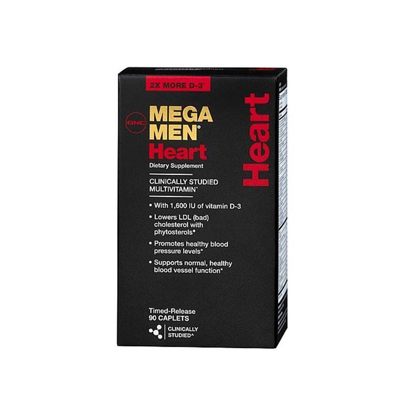 GNC Mega Men Heart 90 таб