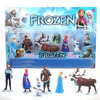 Игрушки набор Фрозен Холодное сердце Frozen Анна-Эльза-Кристофф-Олаф, фото 1