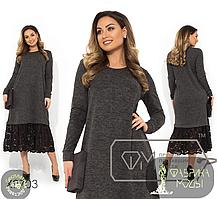 Платье Фабрика моды прямой поставщик производитель Одесса большой размер 50-54