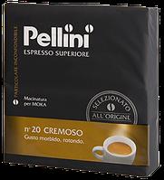 Кофе молотый из Италии Pellini Espresso Superiore n.20 Cremoso Duo 500 г.