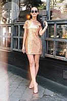 Платье коктейльное в расцветках  3389, фото 1