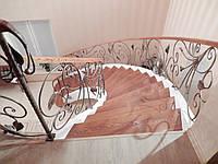 Лестница из бетона на заказ