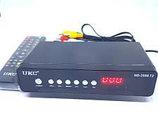 Цифровий тюнер T2 приставка з переглядом YouTube HDMI USB 2.0 UKC HD-2558 T2 металевий корпус