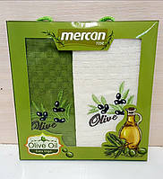 Кухонные полотенца Вафельные (ТМ Merkan)  45*65 (2шт.) Турция