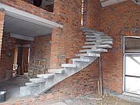 Межэтажные бетонные лестницы