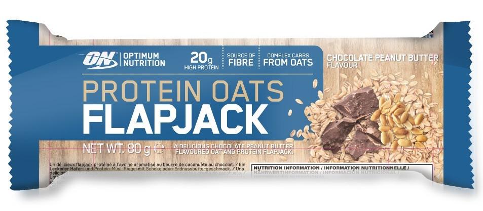 Optimum Protein Oats FlapJack 80g