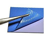 Термопрокладка 3KS 3K800 G14 0.5мм 50x50 синяя 8 Вт/м*К термоинтерфейс для ноутбука (TPr-3K8W-G14), фото 1