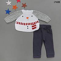 """Костюм """"Снеговик"""" для малыша. 68, 80 см, фото 1"""