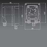 Перистальтический дозирующий насос AquaViva универсальный 1,5 л/ч (PPE) с фикс.скор., фото 3