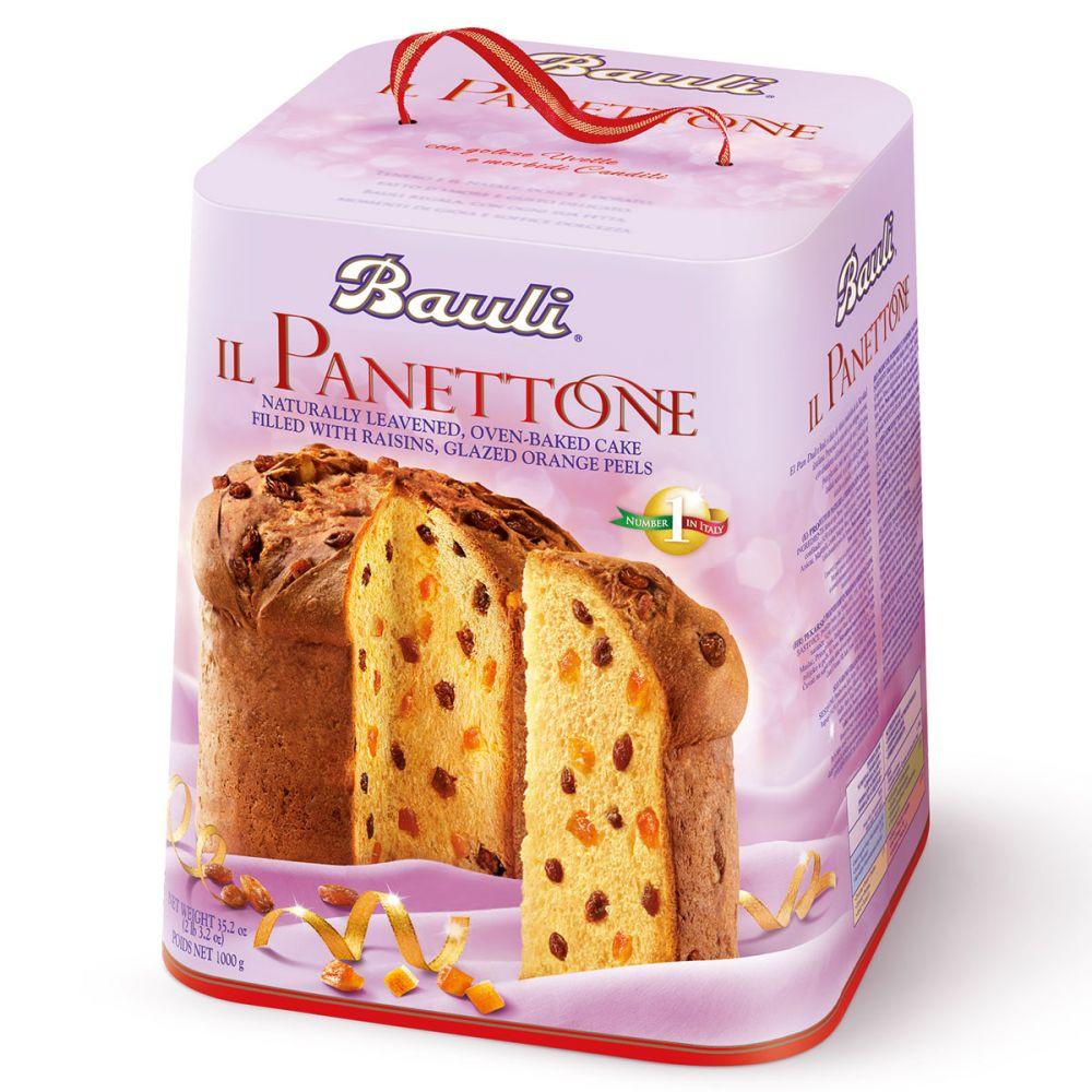 Панеттон классический с изюмом и цукатами Bauli Il Panettone, 750 г.