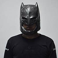 Маска Бетмен взрослая латекс, резиновый шлем Бэтмен против Супермена