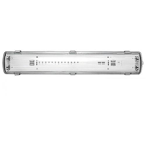 Корпус светильника IP65 для LED,L-1*1200 мм, 1272 Х 58 Х 77 ММ 36W