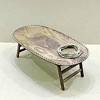 Столик-поднос для завтрака Вайоминг капучино (не прошнурованный)