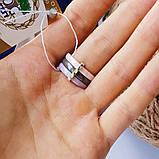 Кільце з металу з сріблом і золотом Лімпопо, фото 3
