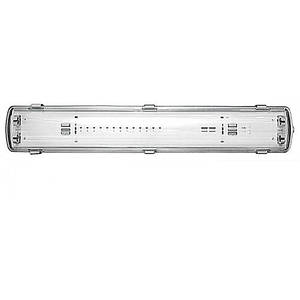 Корпус світильника IP65 для LED,L-2*1200 мм, 1272 Х 58 Х 107 ММ 36W