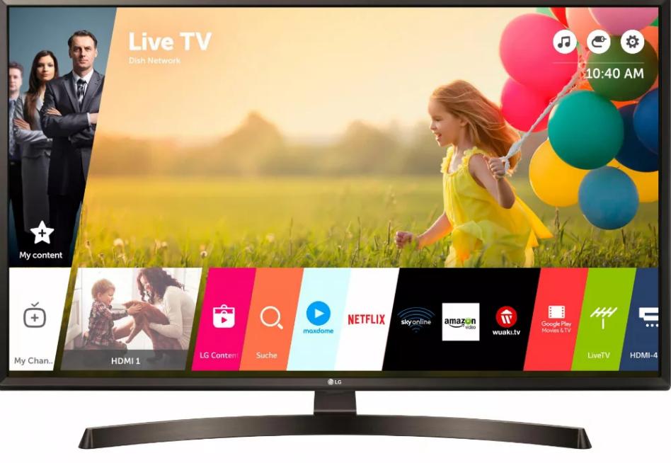 Телевизор LG 43UK6400 Ultra HD 4K HDR New (2018)