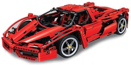 Конструктор Bela 10571 Феррарі Енцо Enzo Ferrari, фото 2