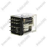 Реле Omron MYQ4 24VDC, 5A/220VAC, 5A/24VDC, фото 2