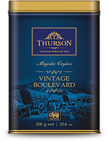 "Чёрный чай Thurson Vintage Boulevard ""Вековое Наследие"" 300 гр, ж/б"