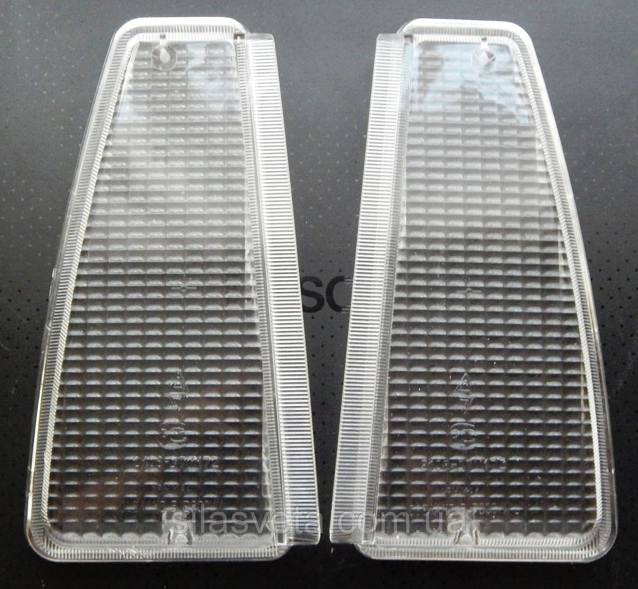 Стекла передних поворотников ВАЗ 2108,09,099 (Белые)