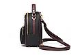 Рюкзак жіночий шкіряний сумка Belladonna Чорний, фото 4