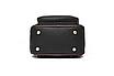 Рюкзак жіночий шкіряний сумка Belladonna Чорний, фото 6