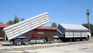 Тент ПВХ на Камаз зерновоз плотностью 650 г/м2.( Испания )