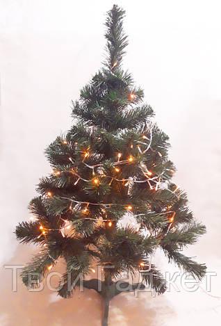 ОПТ/Розница Искусственная елка ПВХ зеленая, 1.5 м ВИДЕООБЗОР