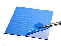 Термопрокладка 3KS 3K800 G20 1.0мм 100x100 синяя 8 Вт/м*К термоинтерфейс для ноутбука (TPr-3K8W-G20), фото 1