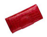 Кошелек из кожи крокодила Ekzotic Leather  Красный (cw65)