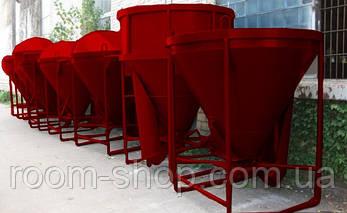 """Бадьи (бункера, емкости, тары) """"Рюмки""""  конусные объем 2 куб. м., фото 2"""