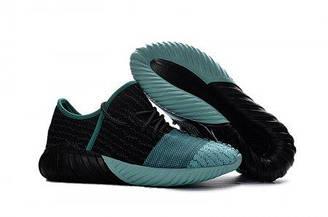 Мужские кроссовки Adidas Yeezy Boost 550 Black Blue | Адидас изи буст черные