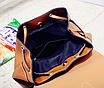 Рюкзак женский сумка трансформер Daily Woman Коричневый, фото 8