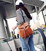 Рюкзак женский сумка трансформер Daily Woman Коричневый, фото 2