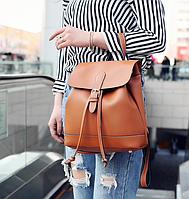 Рюкзак женский сумка трансформер Daily Woman Коричневый, фото 1