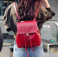 Рюкзак женский сумка трансформер Daily Woman Бордовый, фото 1