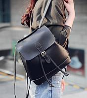 Рюкзак женский сумка трансформер Daily Woman Черный