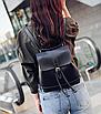 Рюкзак женский сумка трансформер Daily Woman Черный, фото 2