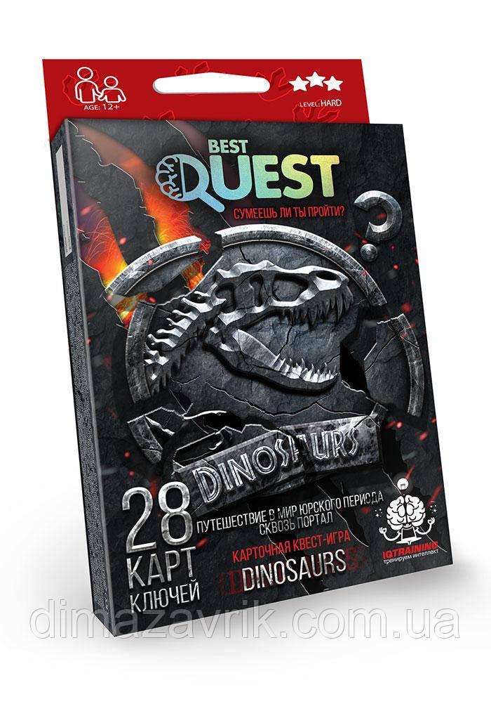 """Карточная квест игра """"Best Quest"""" Danko Toys"""