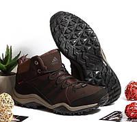 Спортивные ботинки Adidas Коричневые Натуральный Нубук, фото 1