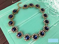 Ожерелье женское с камнями