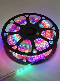 Светодиодная лента RGB SMD 5050/60 220V 4Pin Код.59397