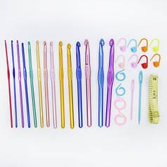 Алюминиевые крючки для вязания