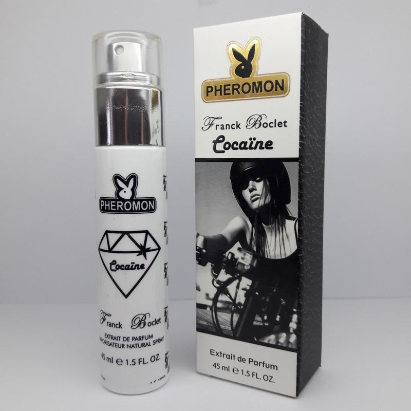 Мини-парфюм с феромонами Franck Boclet Cocaine (Франк Бокле Кокаин), 45ml, фото 1
