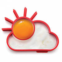 Форма для яичницы Sunnyside Monkey Business (красная), фото 1