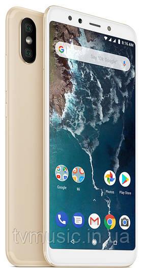 Мобильный телефон Xiaomi Mi A2 4/64 Gold