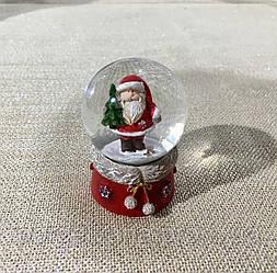 Снежный шар Дед мороз 6,5 см