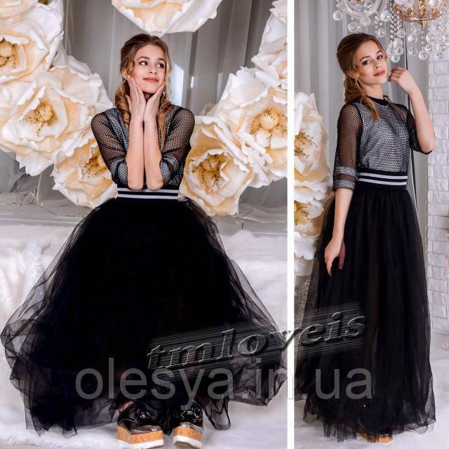 Нарядный подростковый комплект Fashion для девочек Размеры 140-170